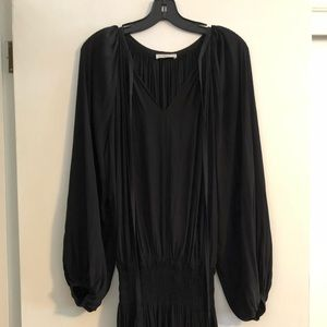 Ramy Brook Long Sleeve Silk Dress